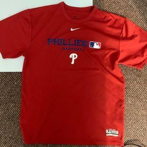Philadelphia Phillies Nike dri fit shirt size M